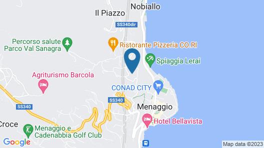 Menaggio Palphi Map
