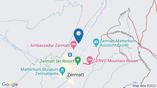 Alpen Resort Zermatt Map