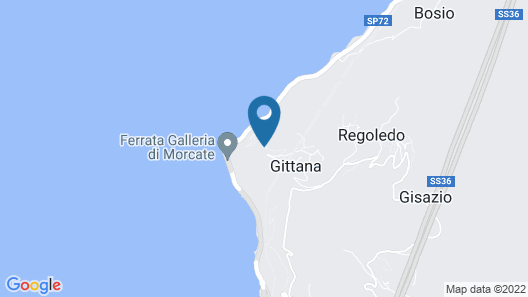 Crotto di Gittana Map