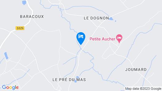 Le Moulin de Douzy Map