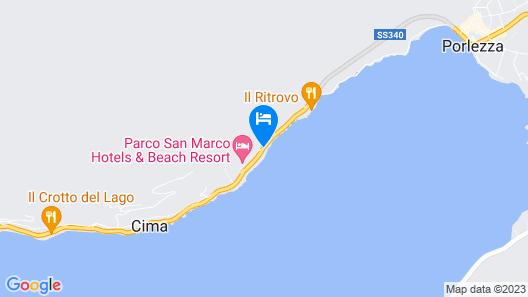 Parco San Marco Lifestyle Beach Resort Map