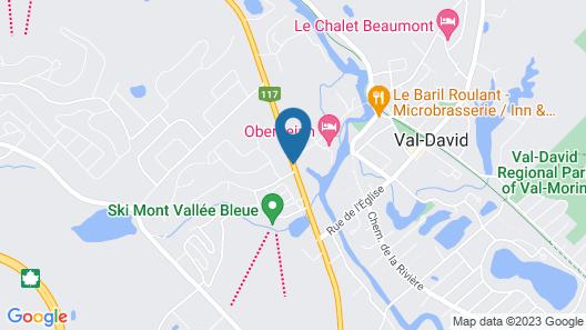 Motel Le Radisson de Val-David Map