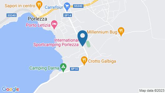 Bungalow Seaesta Map