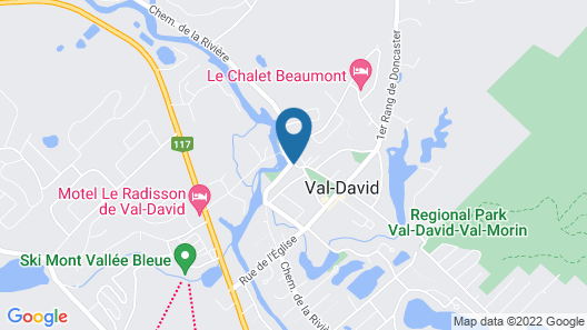 Auberge Micro-Brasserie Le Baril Roulant Map