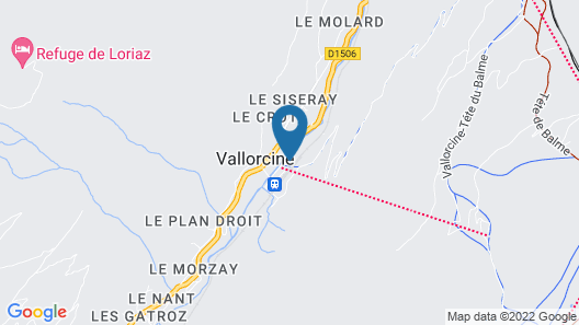 Located in the Center of a Traditional Village Near Chamonix. 50 m From Gondola Map