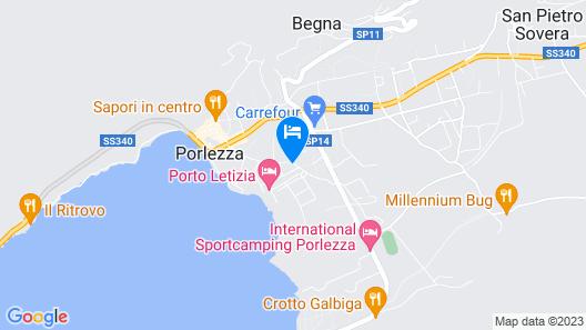Residence Porto Letizia Map