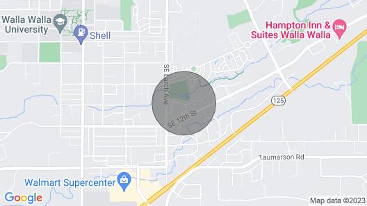 College Place Private Studio Map