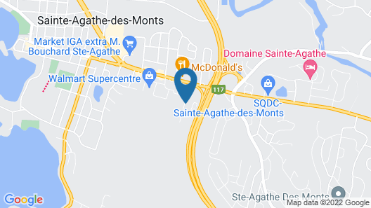Super 8 by Wyndham Sainte Agathe Des Monts Map