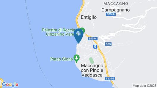Golfo Gabella Map