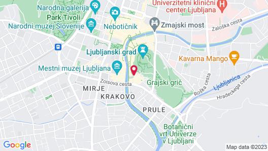 Hotel Galleria Map