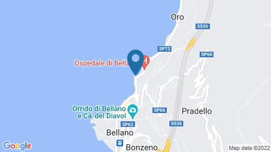Meridiana Boutique Hotel Map