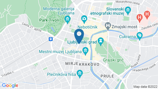 Hotel Cubo Map