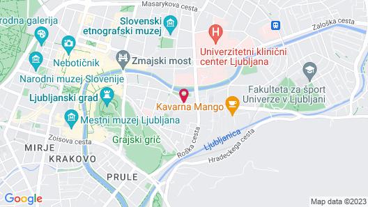 Hostel DIC Map