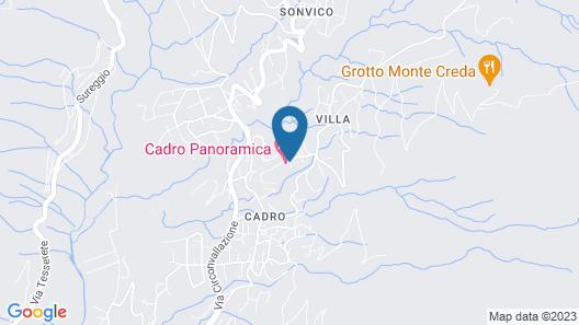 Centro Cadro Panoramica Map