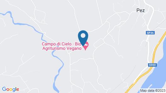 Campo di Cielo Map