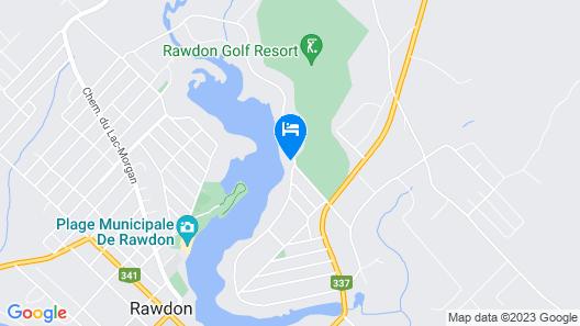 Rawdon Golf Resort Map