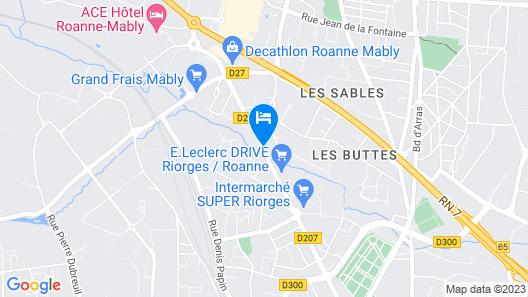 La Belle Auto Map