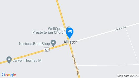Winds Motel Map