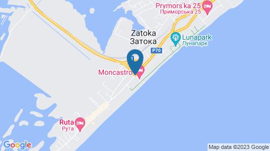 Novy Bereg Map