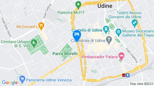Hotel Friuli Map