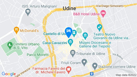 Mercatovecchio Luxury Suites Map
