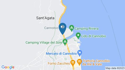 Camping Riviera Map