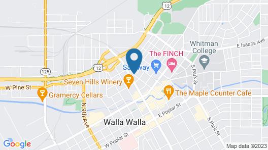 Best Western Plus Walla Walla Suites Inn Map
