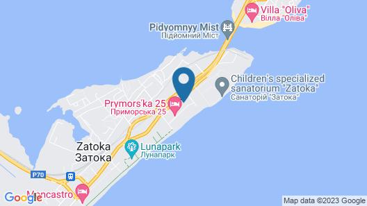 GoodZone Club Panorama Zatoka Map