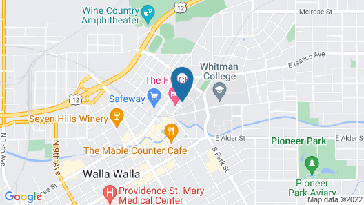 Travelodge by Wyndham Walla Walla Map