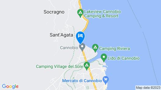 Hotel Campagna Map