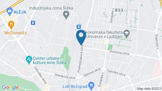 Holiday Inn Express Ljubljana, an IHG Hotel Map