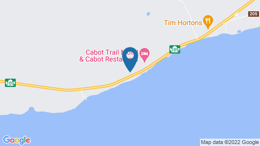 Cabot Trail Motel Map