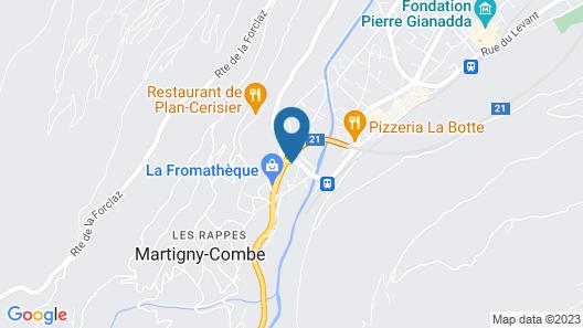 Hotel Porte D'octodure Map