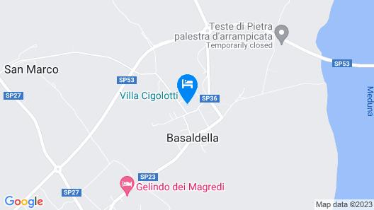Villa Cigolotti Map