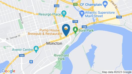 Residence Inn by Marriott Moncton Map