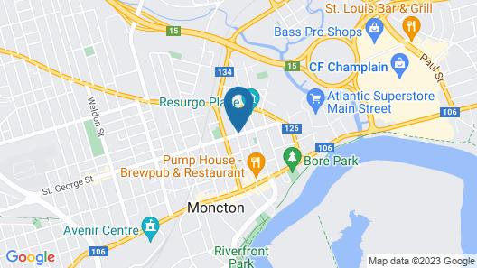 Glory Inn Downtown Bed & Breakfast Map