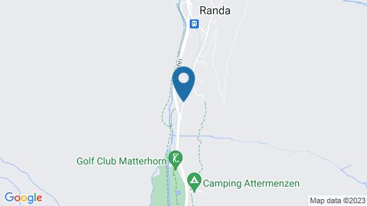 B&B Matterhorn Golf Map