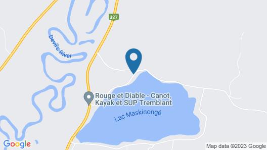 Les Dames Du Lac Map