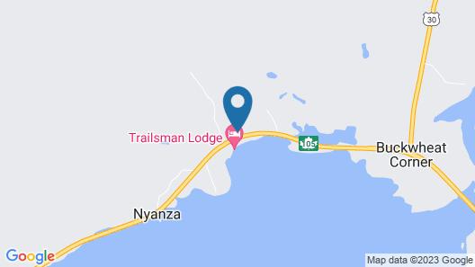 Trailsman Lodge & Restaurant Map