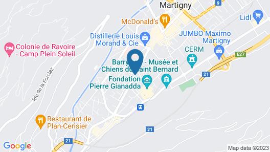 Hotel-Restaurant du Stand Map