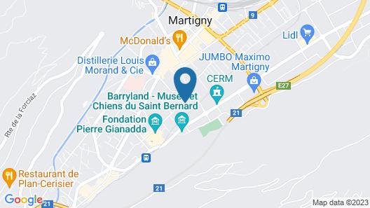Motel Des Sports Map