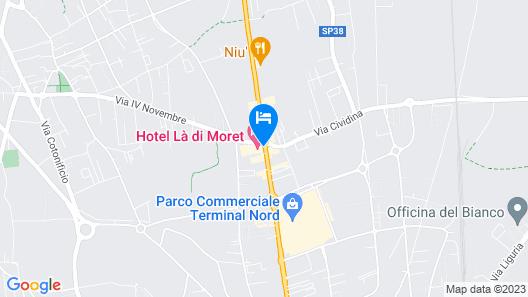 Hotel Là di Moret Map