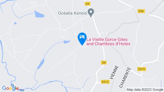 La Vieille Gorce Map
