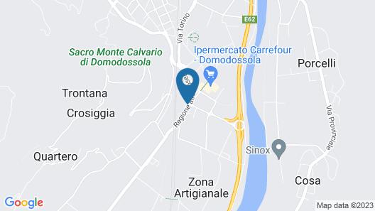 Hotel Internazionale Map