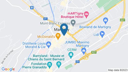 Hotel de la Poste Map