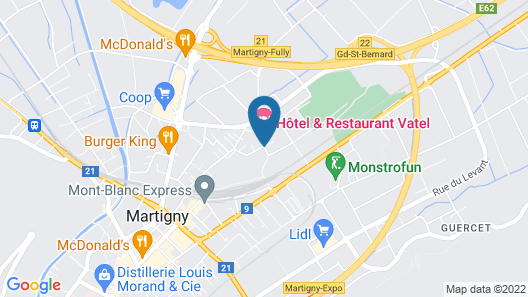 Hotel Vatel Map