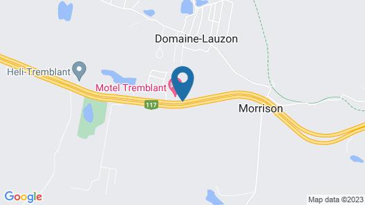 Motel Tremblant Map