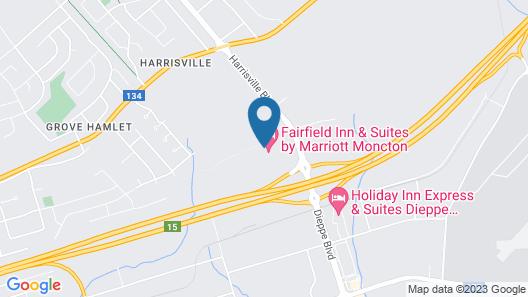 Fairfield Inn & Suites by Marriott Moncton Map