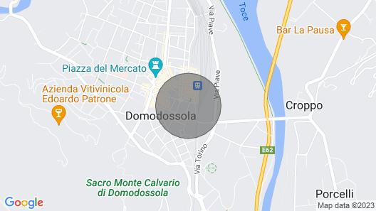 La Casina di Domodossola Map