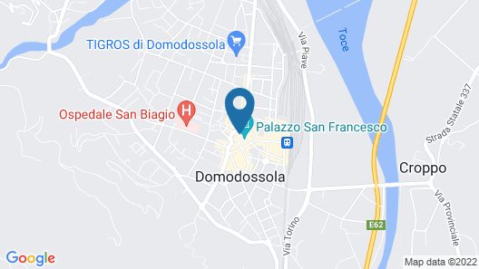 I Due Monaci Map